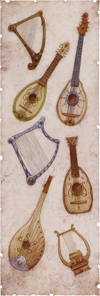 Instruments of the Bards