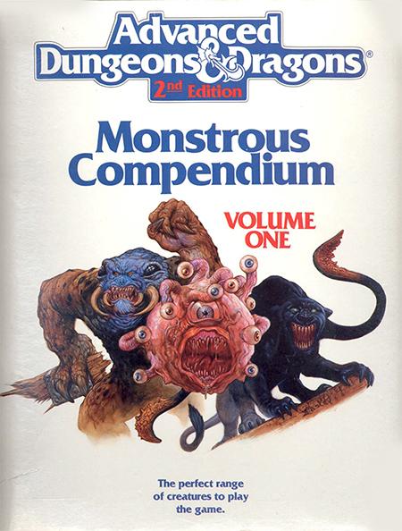 Monstrous Compendium Volume One