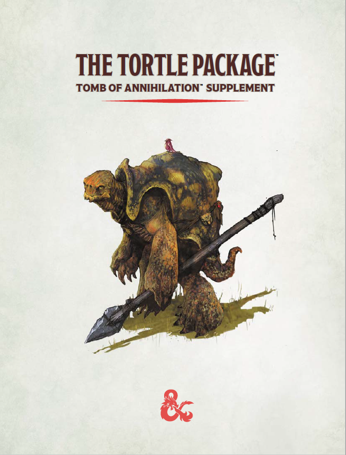 The Tortle Package Forgotten Realms Wiki Fandom Just gave a driftglobe to the players and was reading the details to help explain what it does, but it seemed mostly useless, except for the once a day. the tortle package forgotten realms