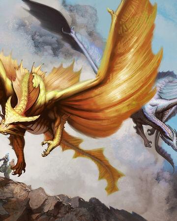 Metallic Dragon Forgotten Realms Wiki Fandom