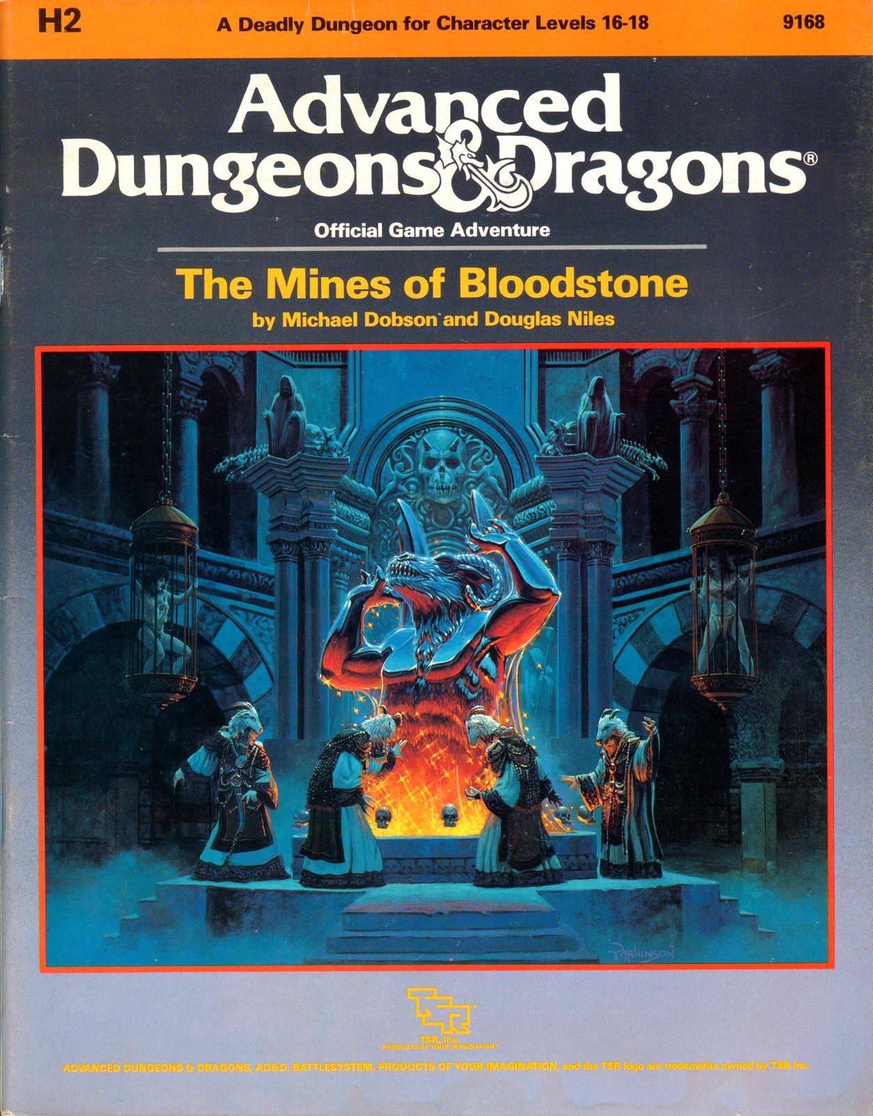 The Mines of Bloodstone