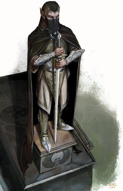 Evereskan tomb guardian