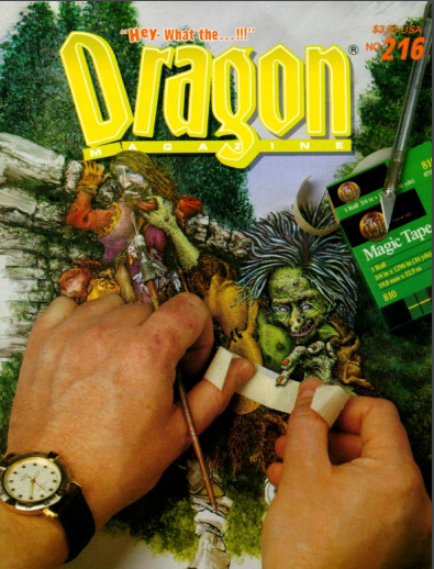 Dragon magazine 216
