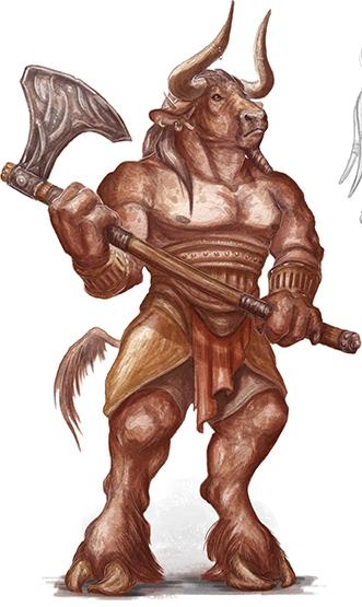 Minotaur Forgotten Realms Wiki Fandom