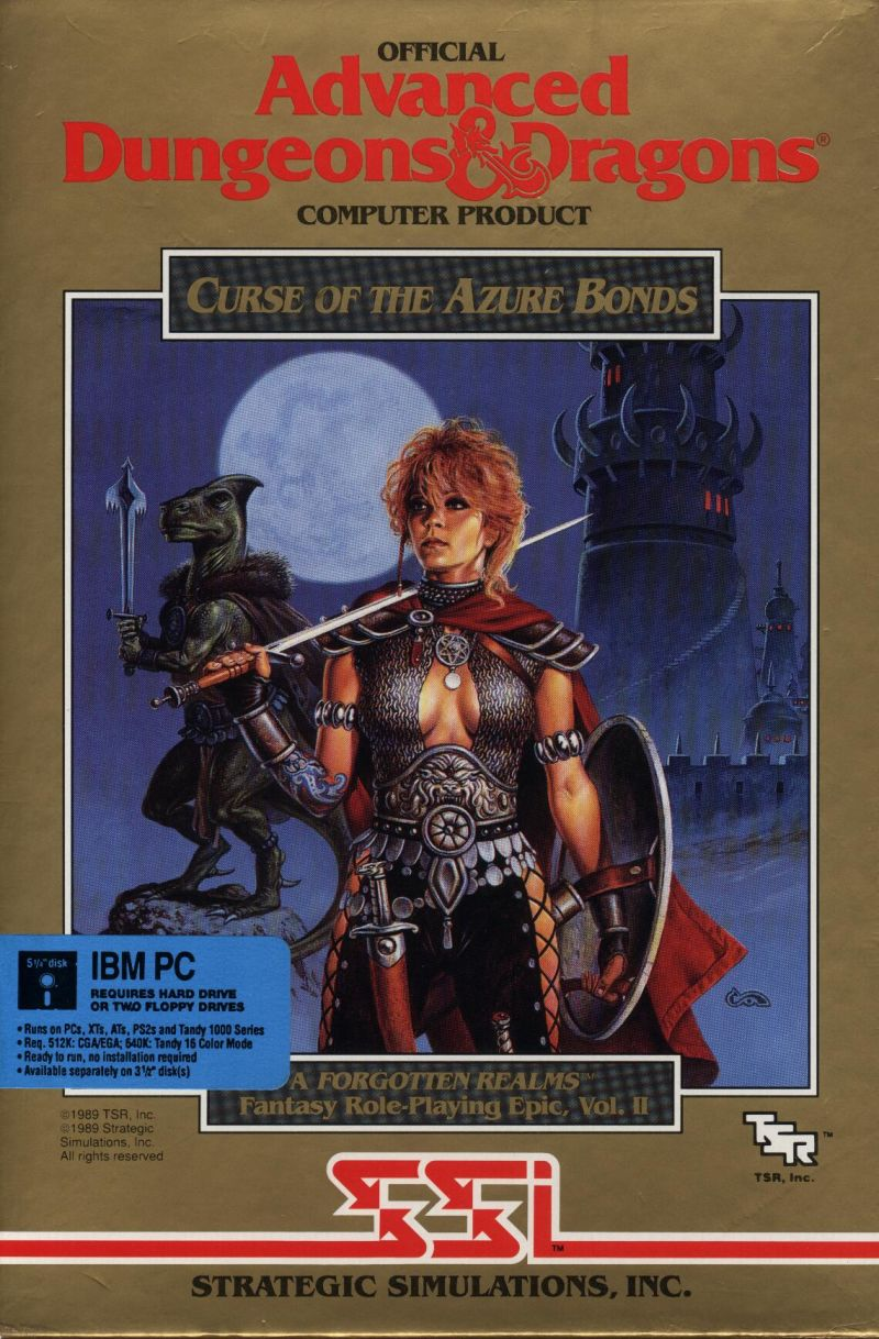 Curse of the Azure Bonds (game)