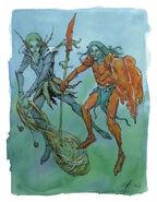 Aquatic Elf Warriors