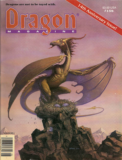 Dragon magazine 158