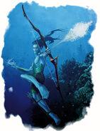 Aquatic Elven Archer