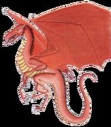 Red dragon hatchling 2e
