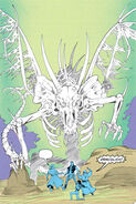 Dracolich - comics