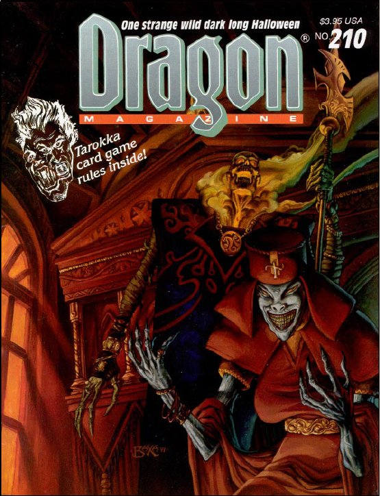 Dragon magazine 210