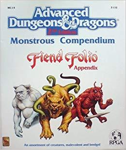 Monstrous Compendium Fiend Folio Appendix