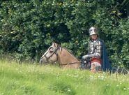 D&D movie Alnwick Castle knight
