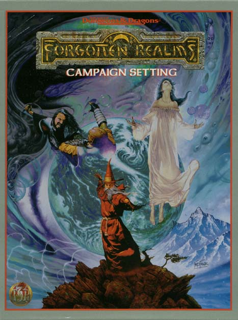 Forgotten Realms Campaign Setting 2nd edition (revised)