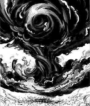 Black cloud of vengeance