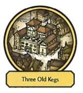 Three Old Kegs
