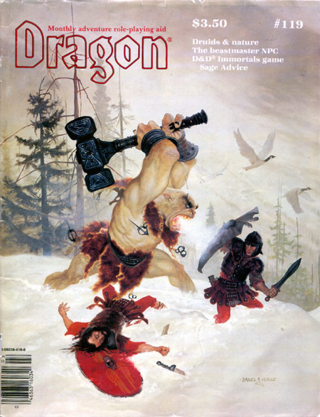 Dragon magazine 119