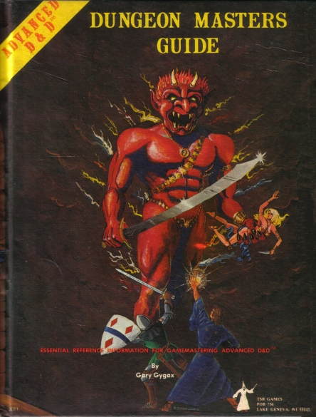 Dungeon Masters Guide 1st edition