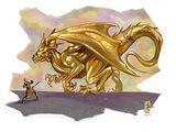 Topaz dragon
