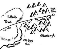Lower Thunder Peaks-Crude Map