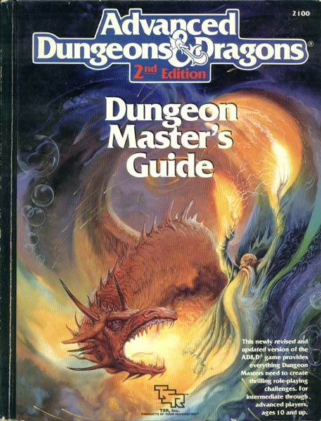 Dungeon Master's Guide 2nd edition