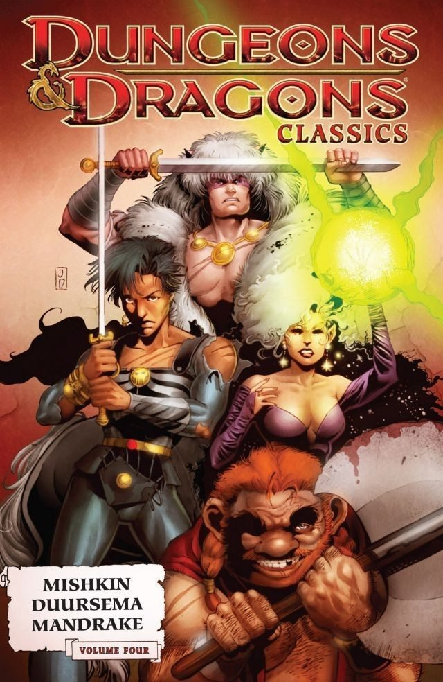 Dungeons & Dragons Classics, Vol. 4