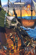 Halfling's Gem comic cover paperback