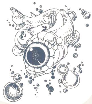 Floating eye
