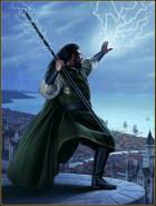 Blackstaff novel cover