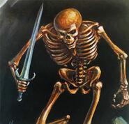 Skeleton spellfire