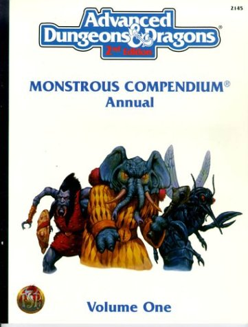 Monstrous Compendium Annual Volume One