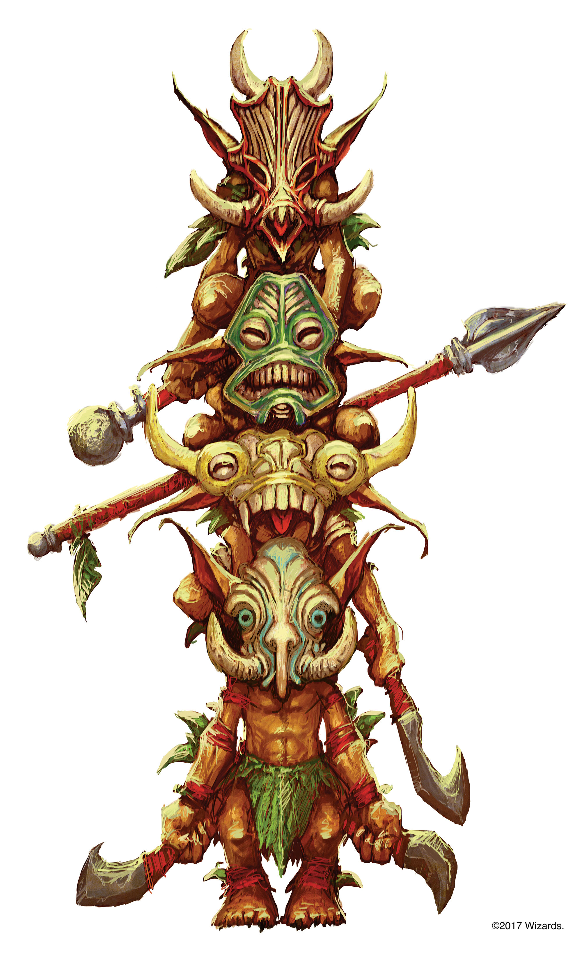 NO MASK BATIRI GOBLIN 2 Tomb of Annihilation D/&D Dungeons and Dragons miniature
