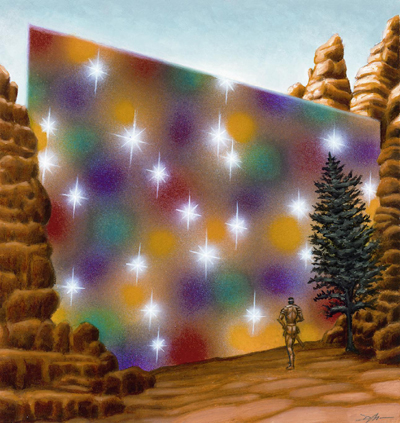 Prismatic wall