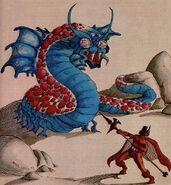 Remorhaz dragon mag2