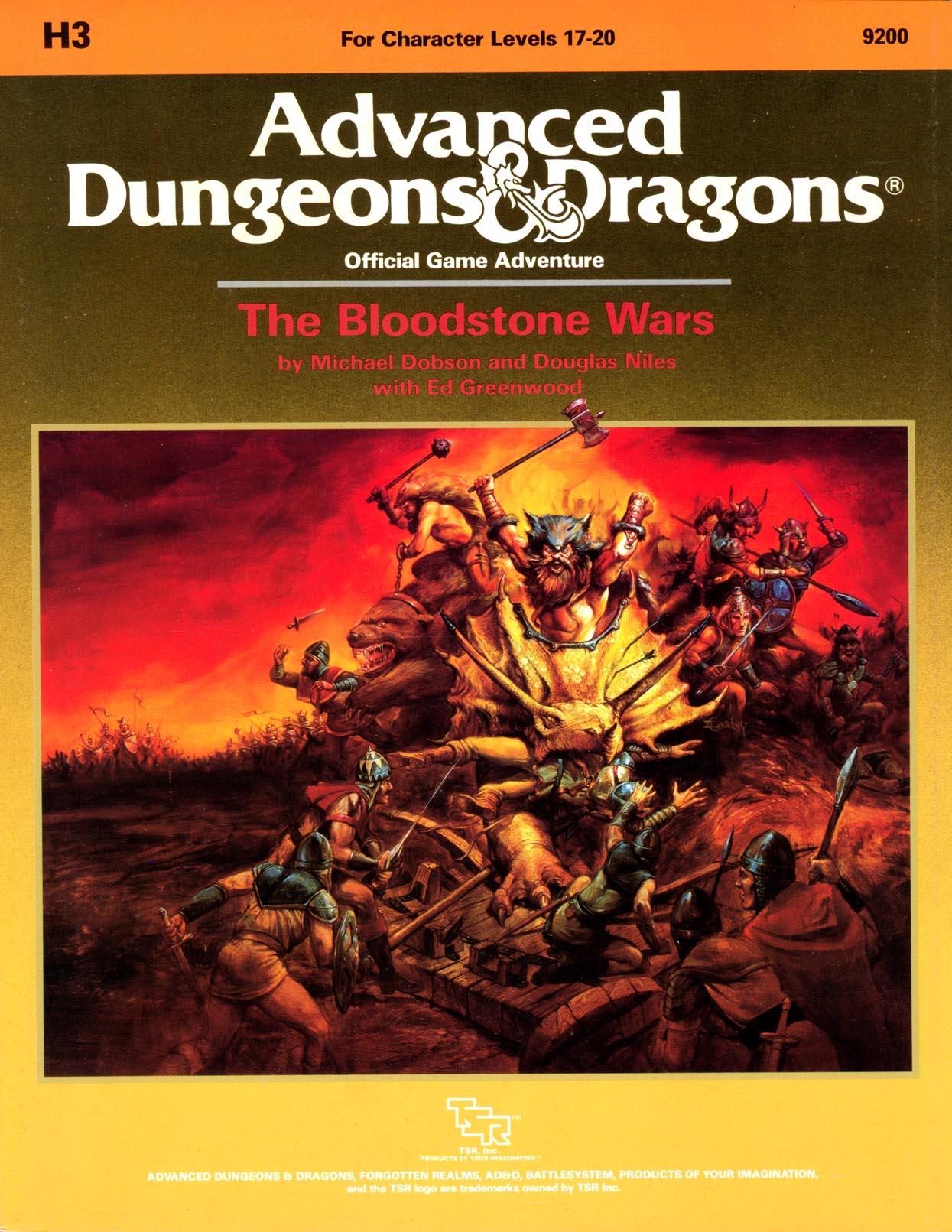 The Bloodstone Wars