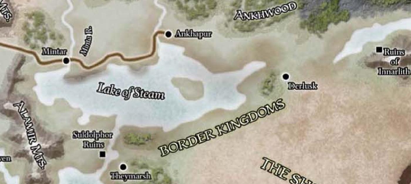 Lake of Steam