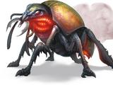 Giant fire beetle