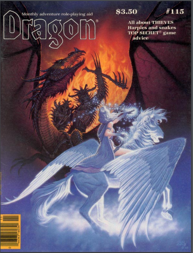 Dragon magazine 115
