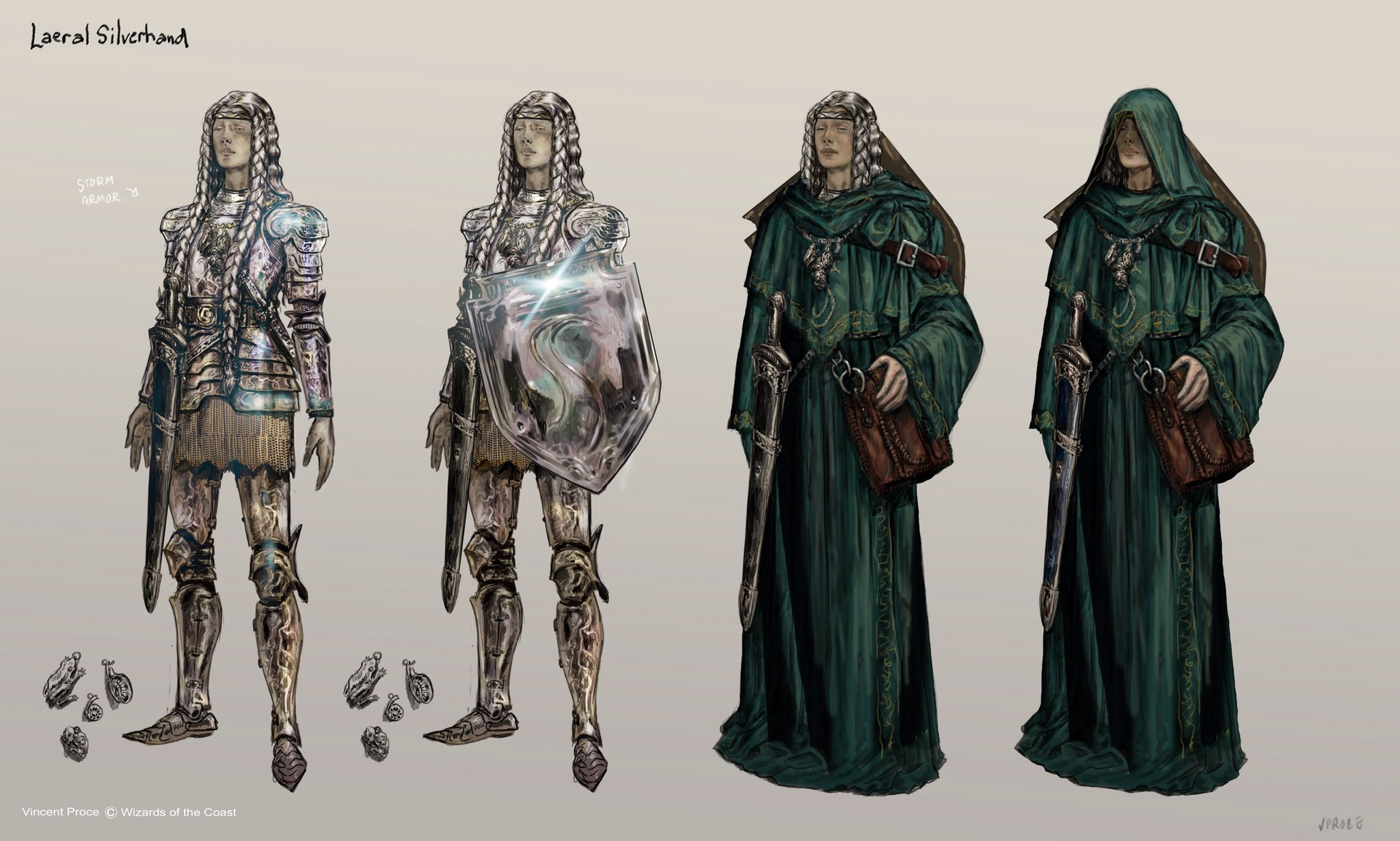 Laeral's storm armor