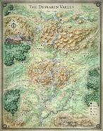 Dessarin Valley Map