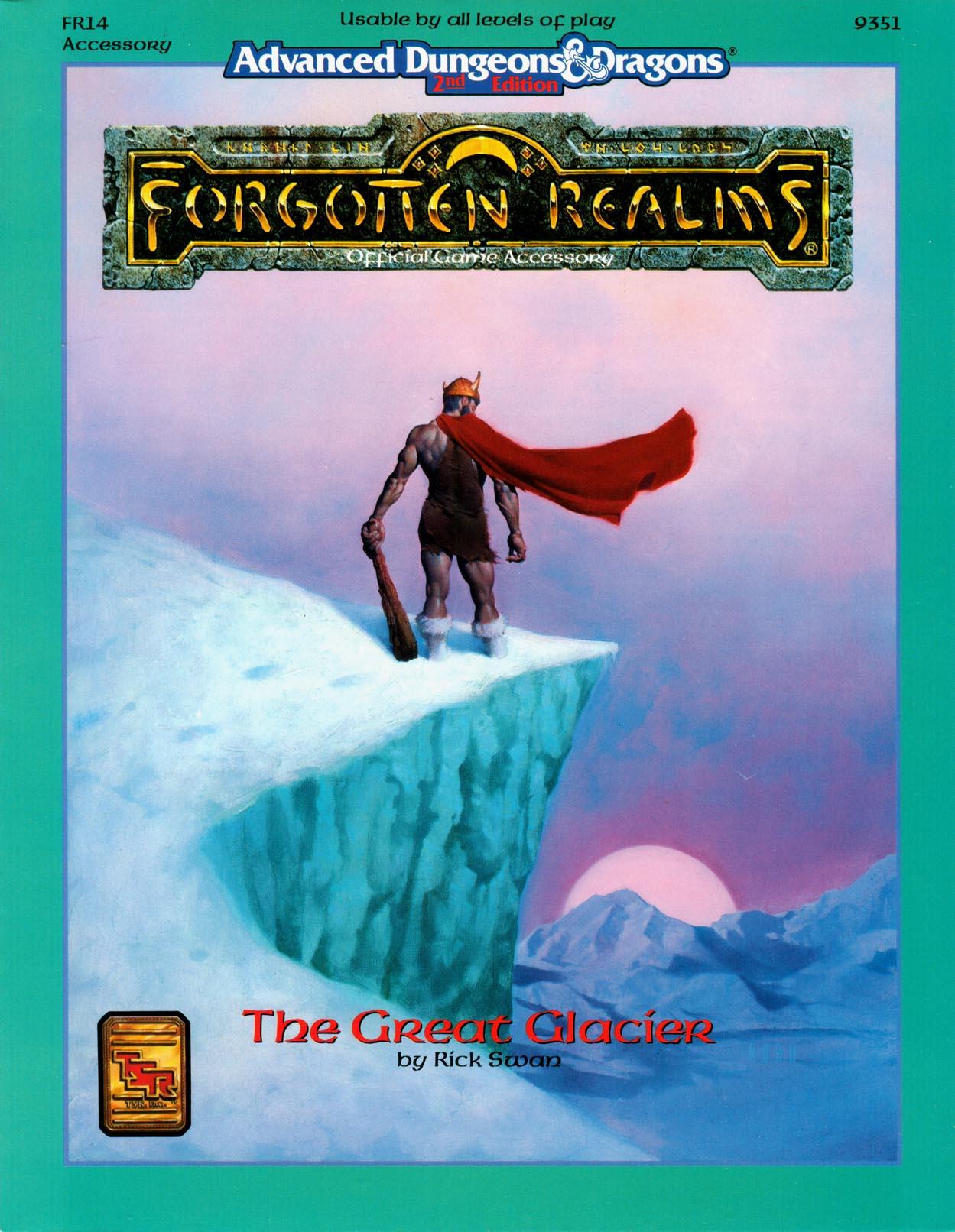 The Great Glacier (sourcebook)