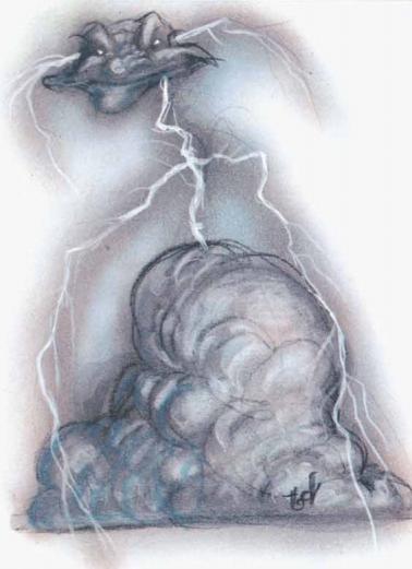 Lightning mephit