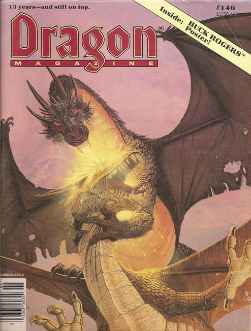 Dragon magazine 146