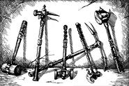 Encyclopedia Display of Hammers (2)