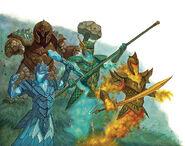 Elemental archons 4e