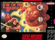 Eye of the beholder SNES cover