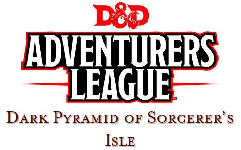Dark Pyramid of Sorcerer's Isle