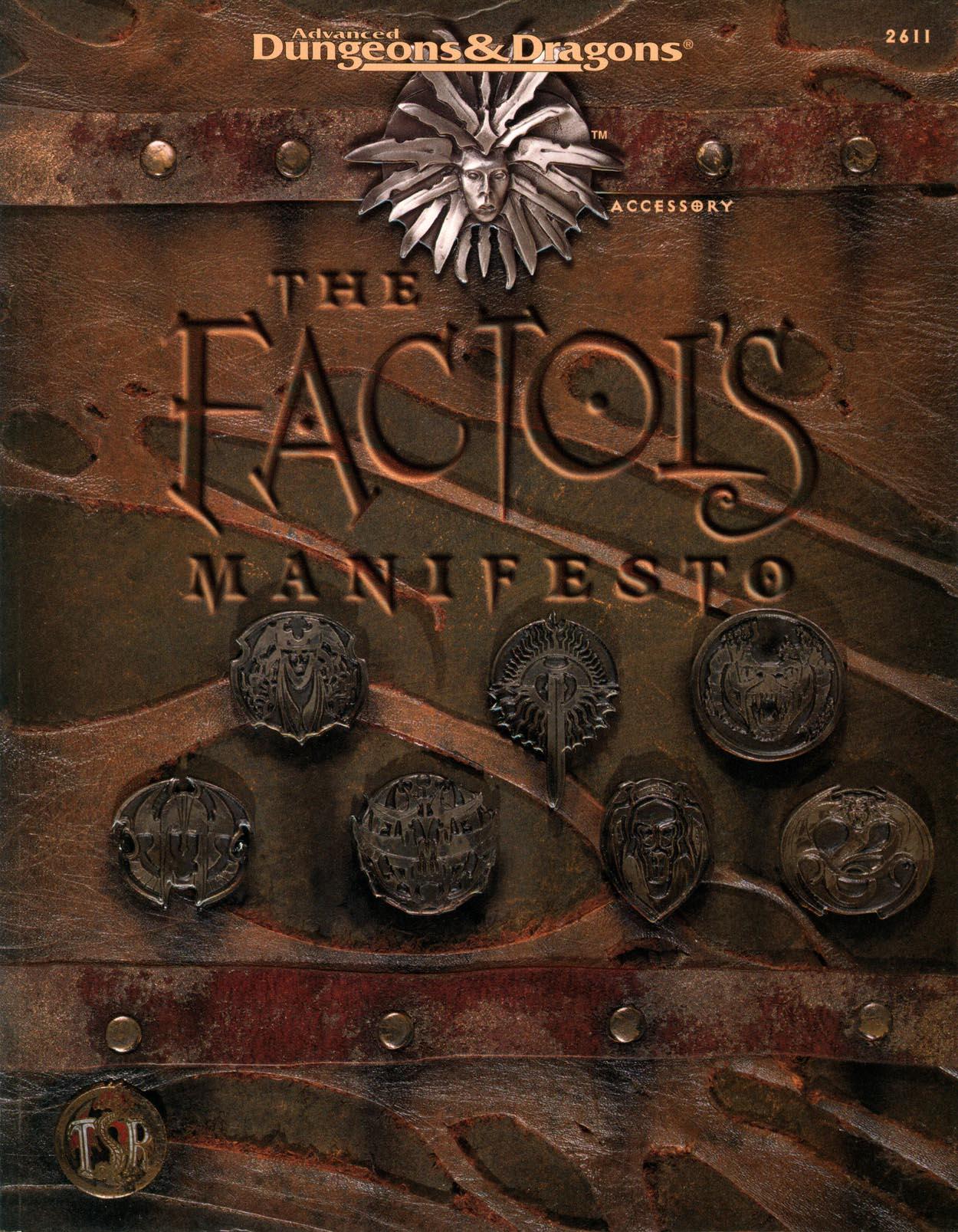 The Factol's Manifesto