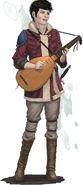Bard playing lute-5e