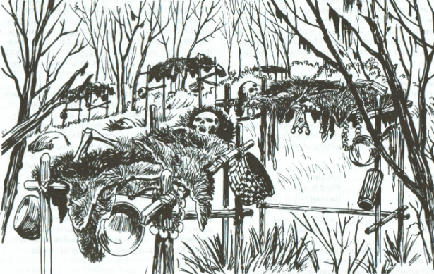 Wind burial